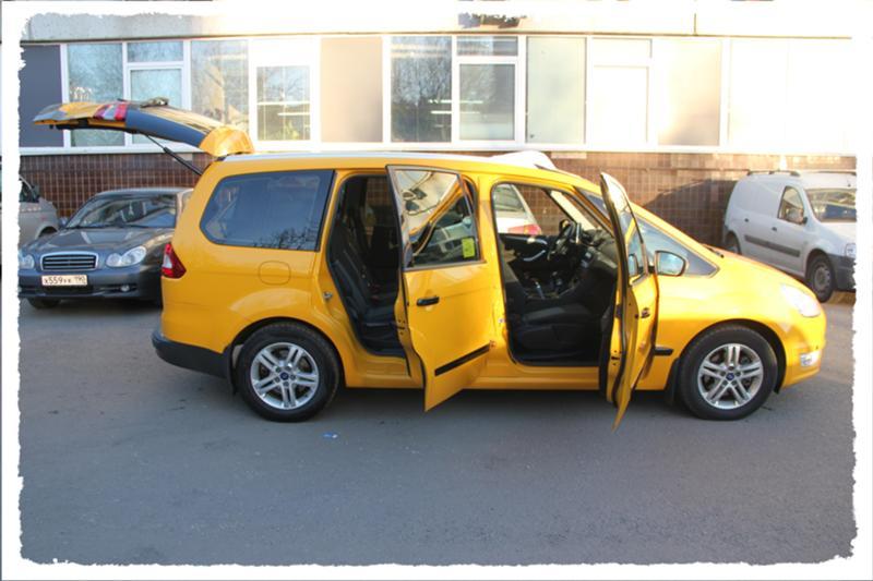 такси минивен