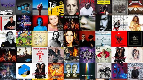 Пластинки, компакт-диски и аудио кассеты на любой вкус