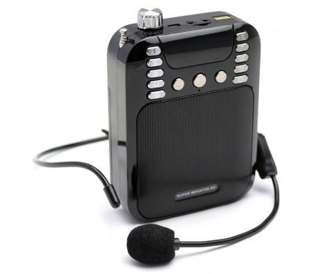 Громкоговоритель поясной РМ-74 с USB/МP3 запись bluetooth 2 аккумулятора