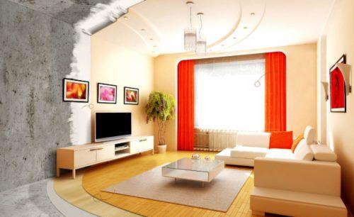 Ремонт квартиры в новостройке от АСК Триан