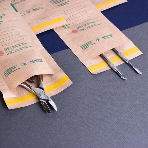 Пакеты для стерилизации маникюрных инструментов