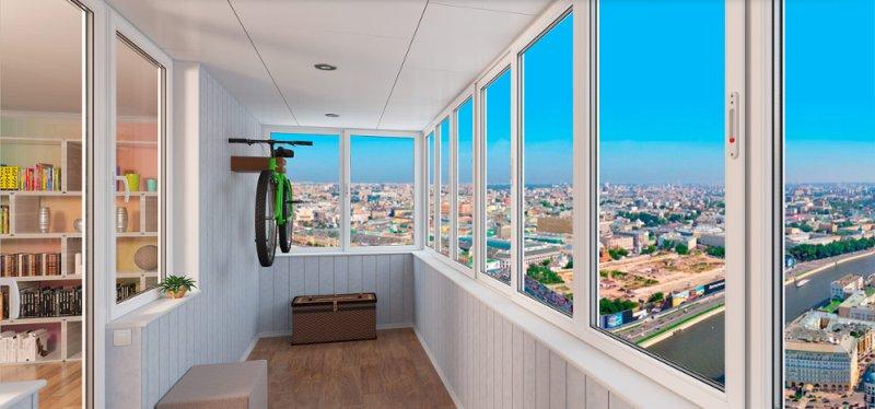 Остекление балконов сегодня