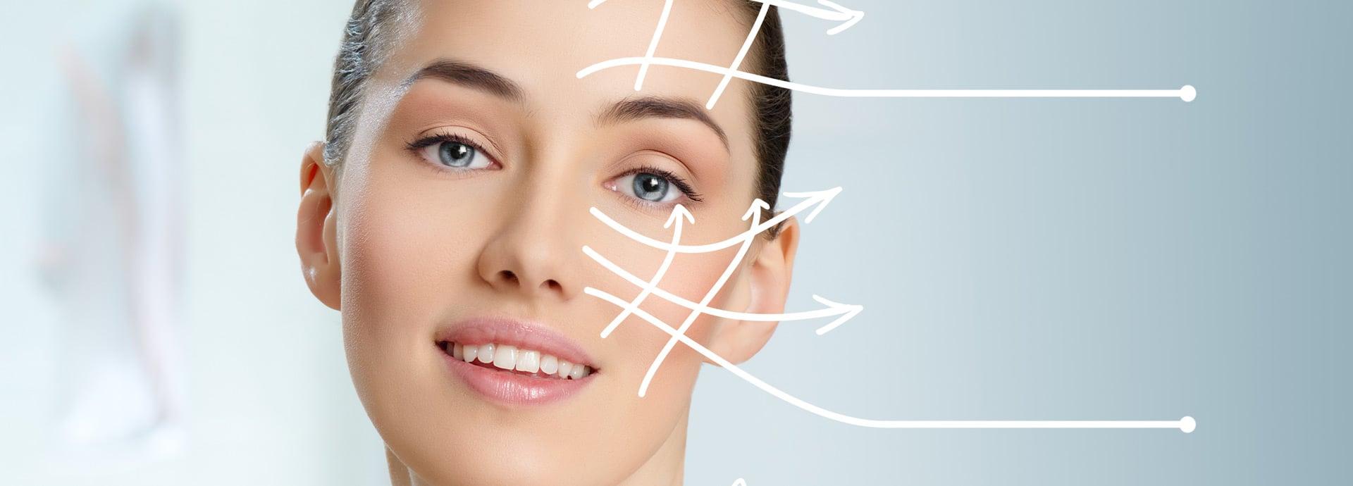 Подтяжка лица методом контурной пластики