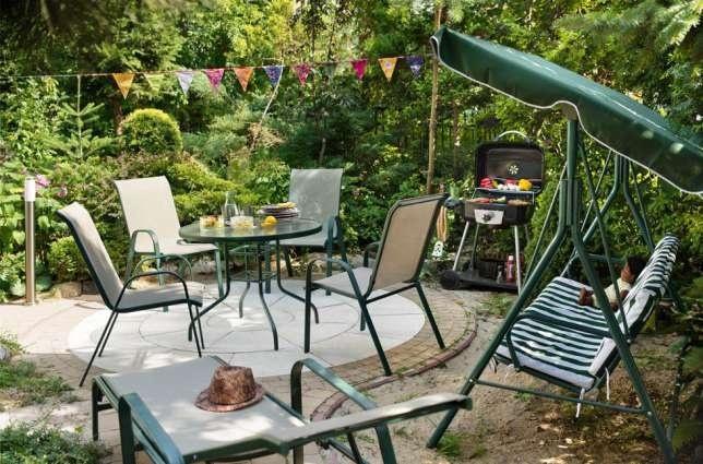 Садовая мебель качели