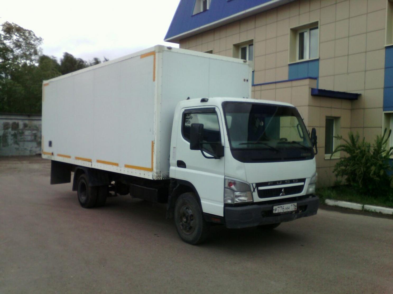 изометрический грузовик Mitsubishi Canter