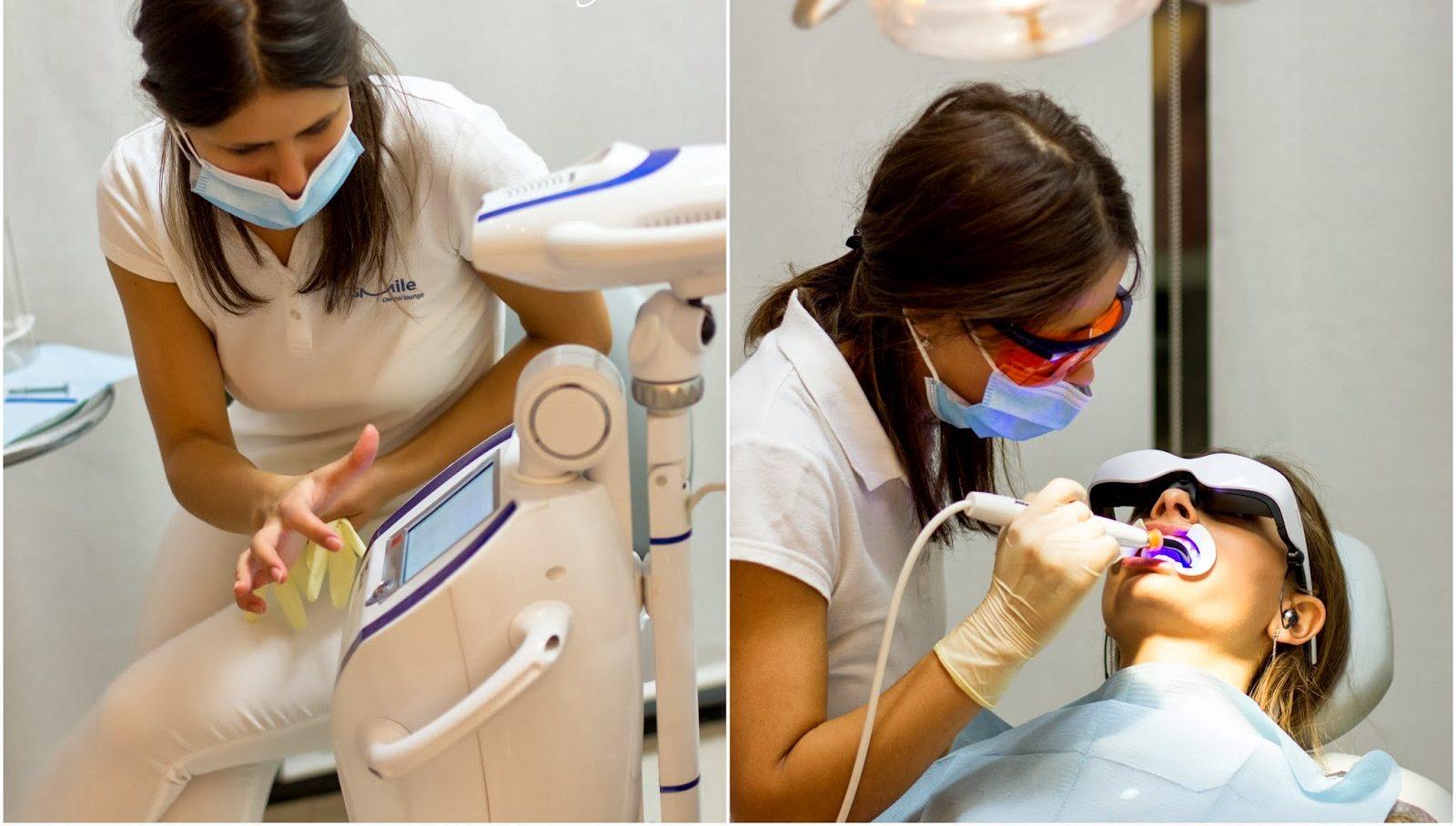 отбеливание зубов зум 3