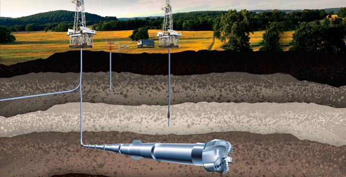Метод ГНБ для добычи нефти и газа