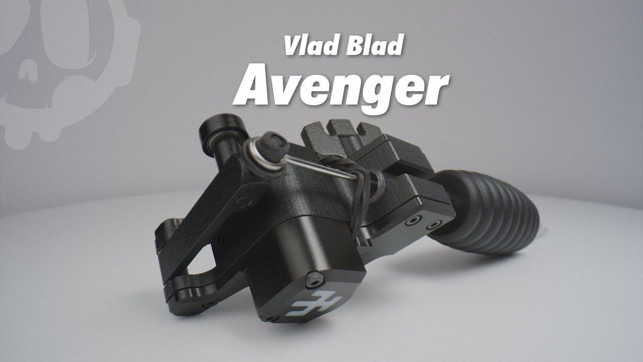 VladBlad Avenger - это гибридная роторная тату
