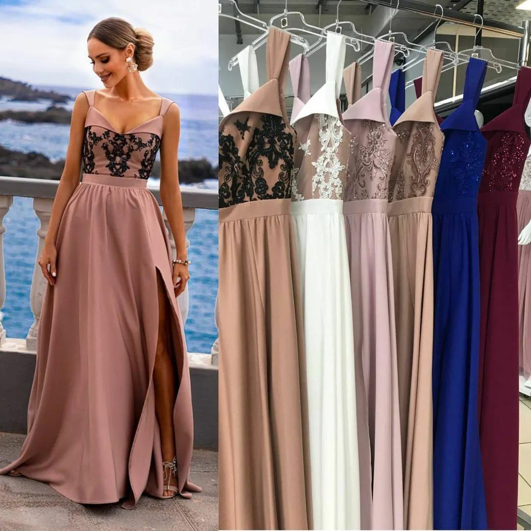 Как правильно подобрать длинное платье